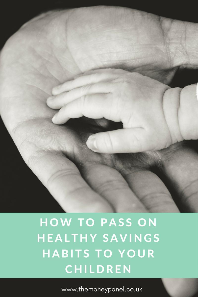healthy money savings habits to children