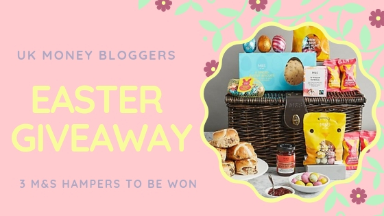 UK Money Bloggers Easter Giveaway Competition Win Marks and Spencer Easter Hamper