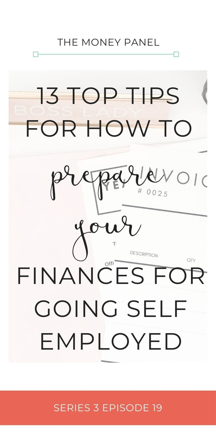 I've been running my business now for almost 2 years, and a financial expert for almost 20 years. In the last 2 years I have learned so much about running a business and how to prepare your finances when you're going self employed.
