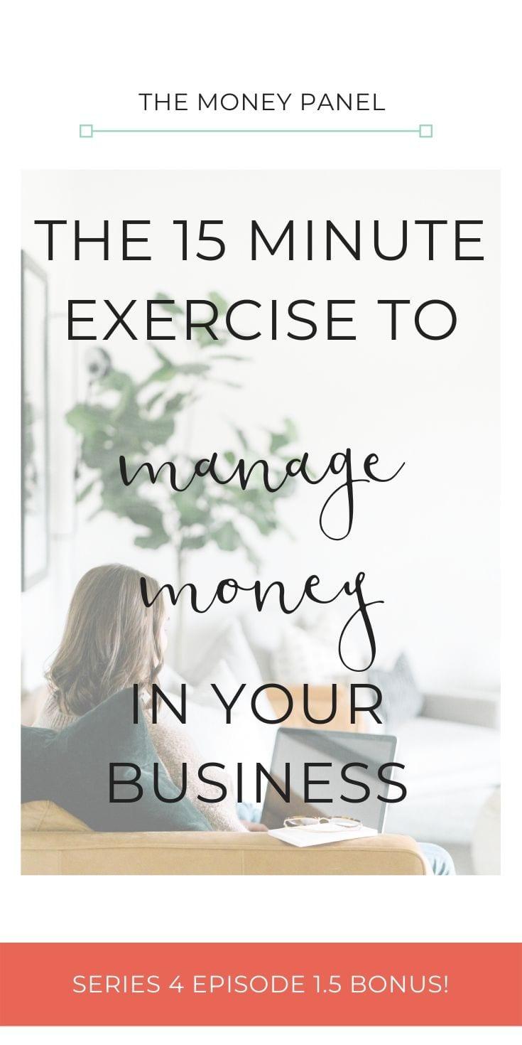I want to share my 15 minute routine that I do every single day in my business. I can honestly say that all of the things I'm going to run through will really help you to manage money in your business with ease. These are simple and uncomplicated tasks.