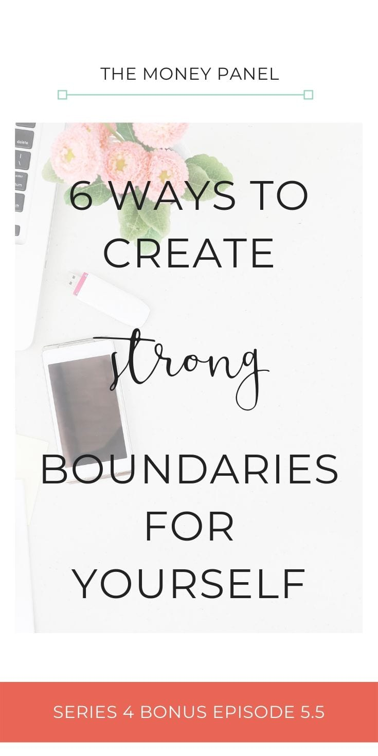 I'm now sitting here feeling absolutely exhausted. So I wanted to share with you what I've learned about myself this week in the hope that it will help you too. I want to talk to you about six ways to create strong boundaries for yourself.