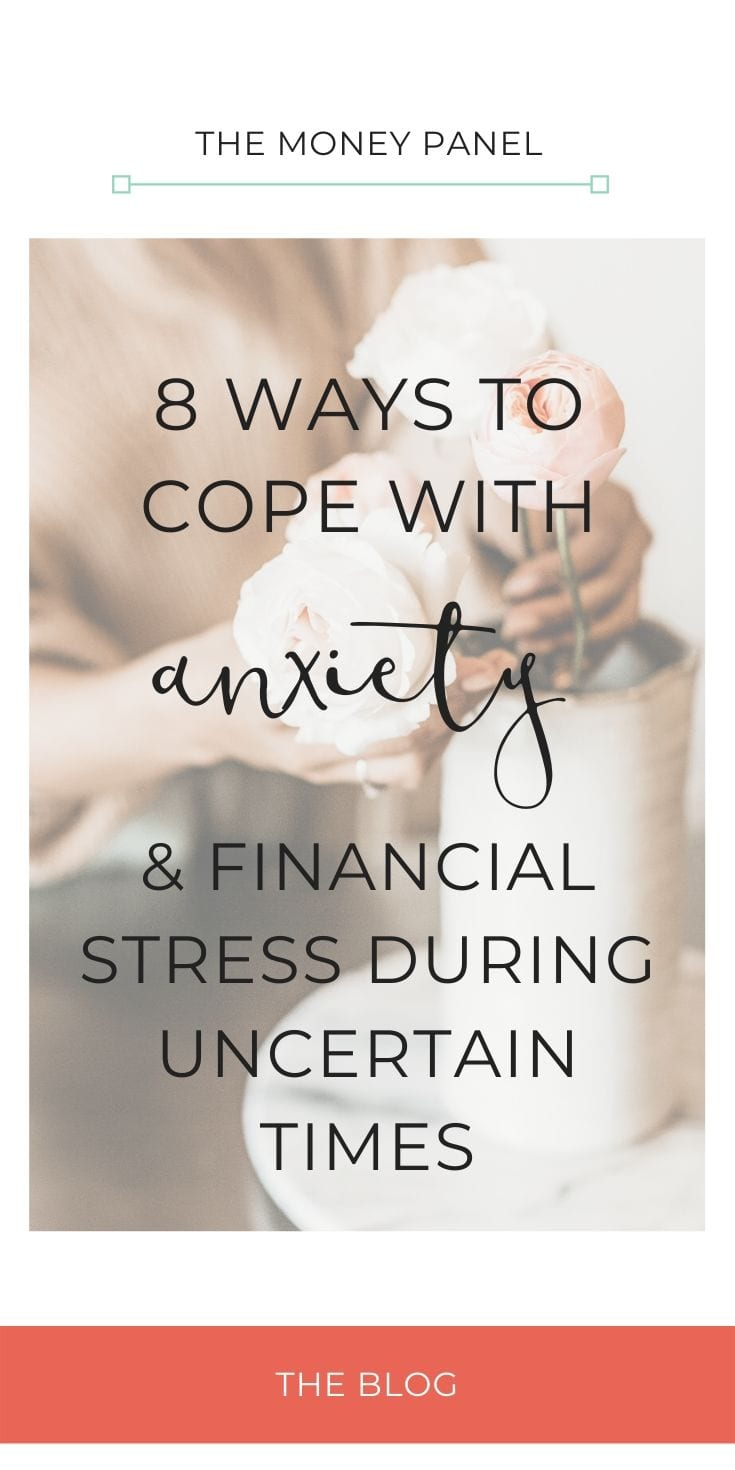 Today I wanted to talk to you about some top tips as to how we can manage anxiety and financial stress during the current Coronavirus outbreak. I think this is one of the most important topics right now bearing in mind everything that's going on in the economy. Not knowing what is going to happen can be extremely stressful, so I just want to leave you with some really tangible, useful tips that you can use to help yourself to think about reducing some of the anxiety and financial stress.