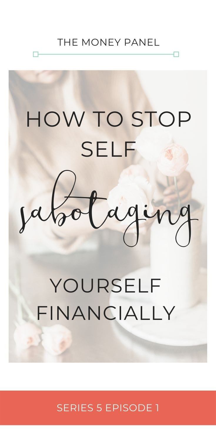 focusing very much on the concepts of financial behaviours and one of the topics is about self sabotage and how to stop self sabotaging yourself financially.
