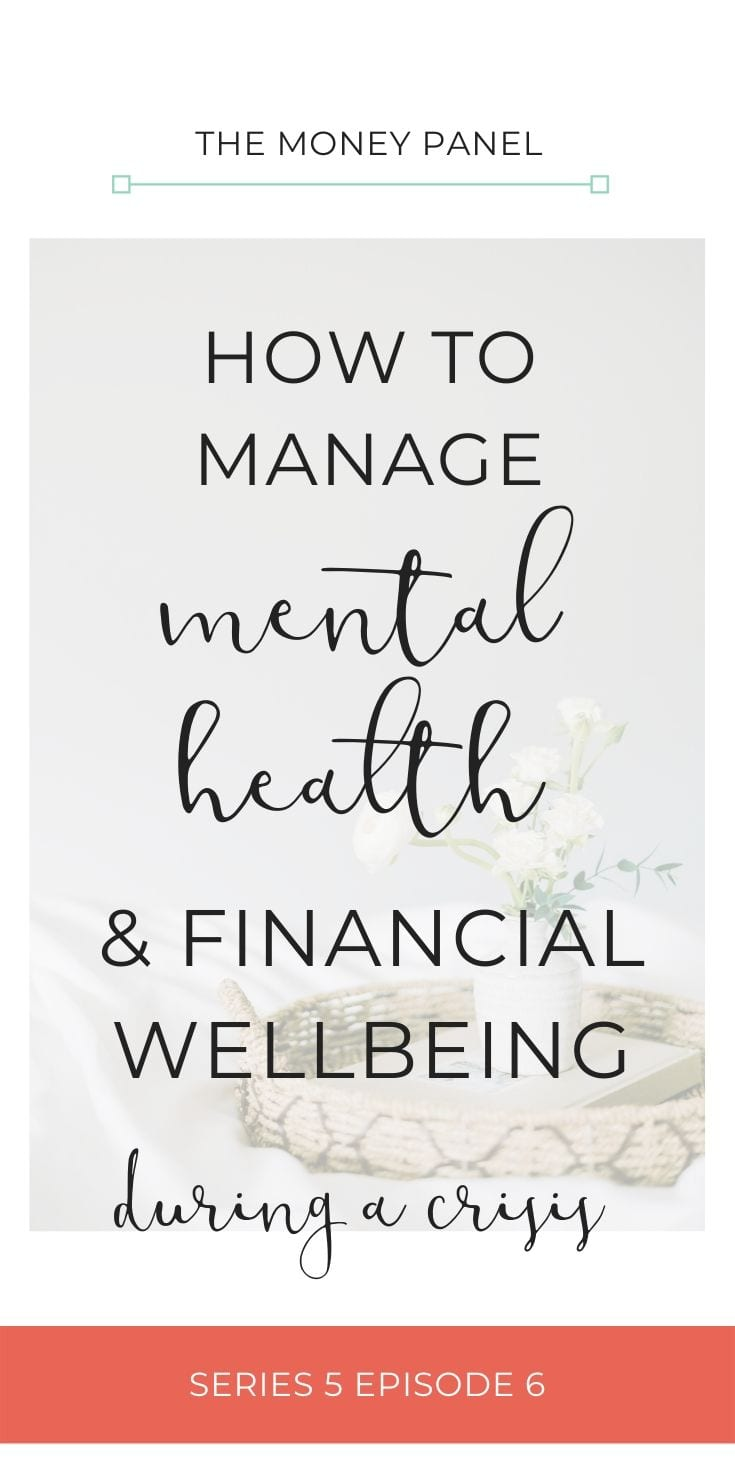 Today I want to focus around how we manage mental health and financial wellbeing during times of crisis. I've got a wonderful guest today, a gentleman called Nick Elston