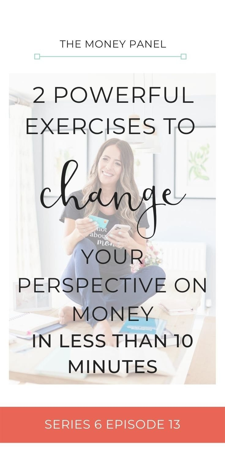 I want to share with you 2 powerful exercises to change your perspective on money, because sometimes we just get stuck in a rut and we feel like we're the only people going through our current financial situation.