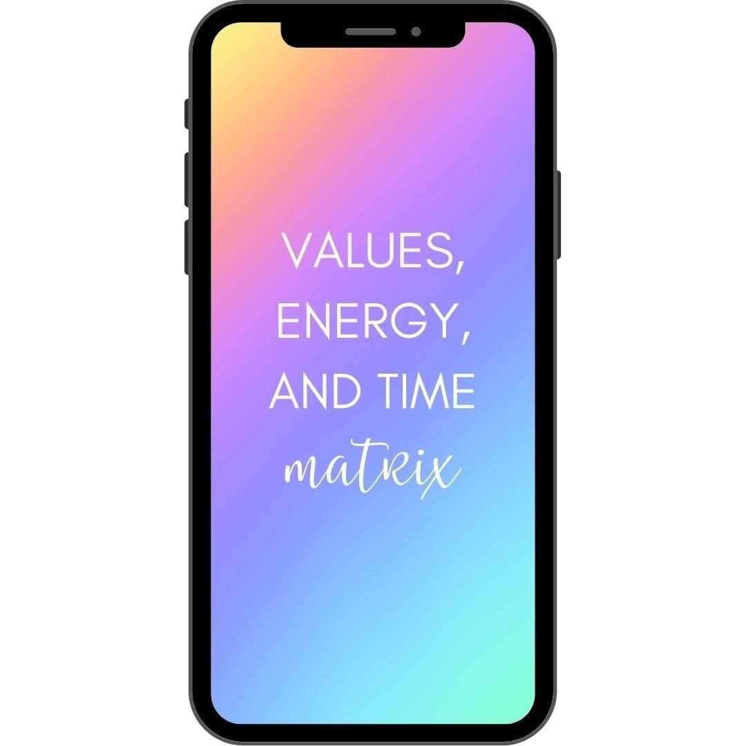 Values Matrix