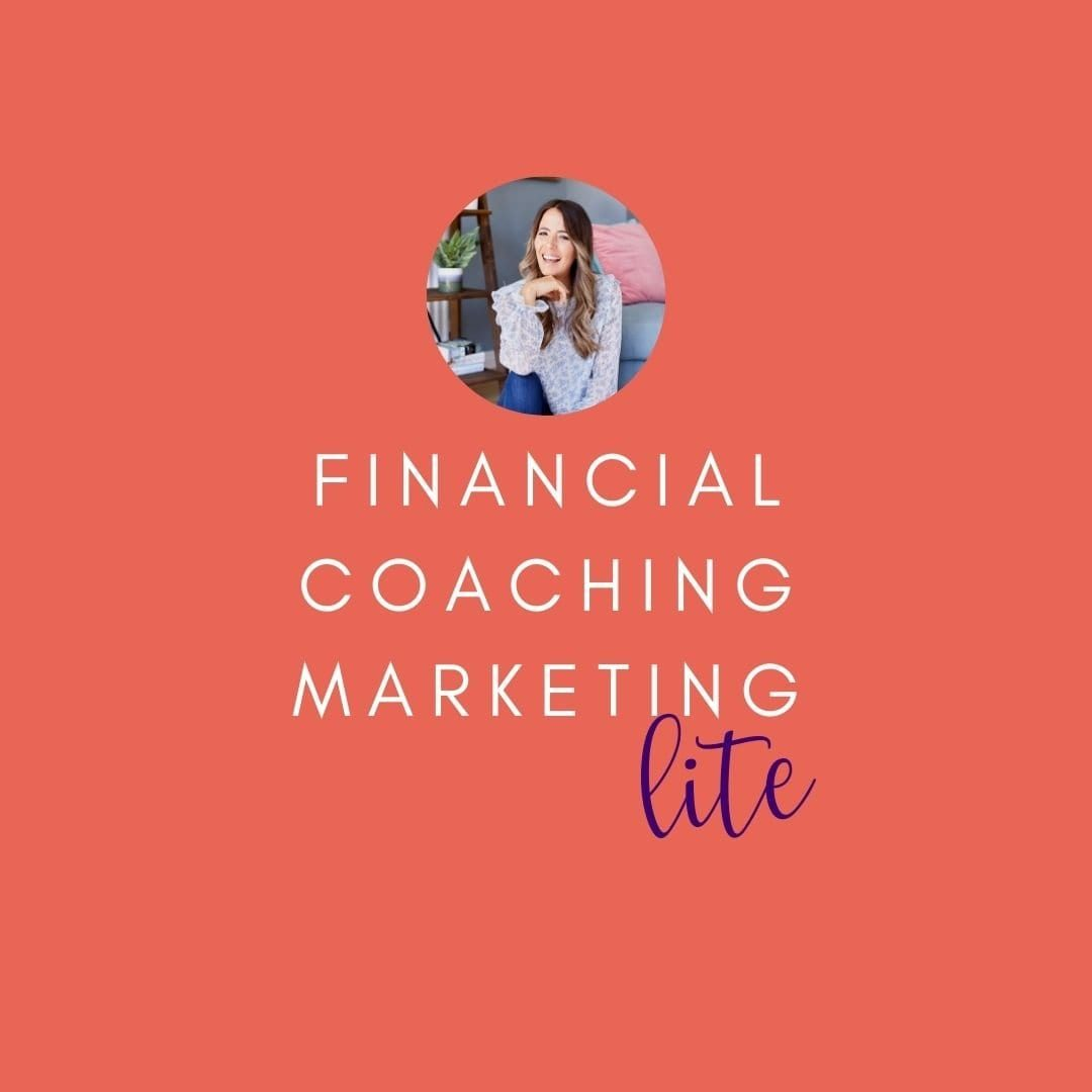 FINANCIAL COACHING MARKETING